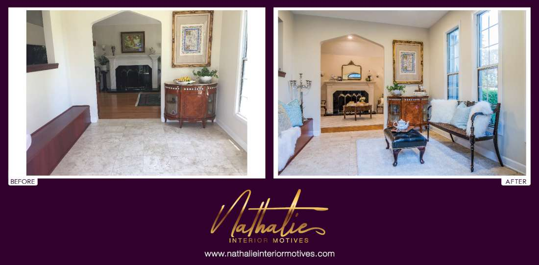 Before After Los Angeles Interior Design Home Staging And Remodeling Consulting